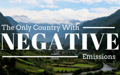 Bhutan: The Only Country With Negative Carbon Emissions