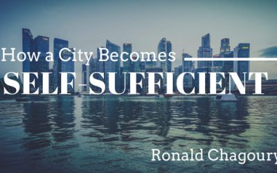 How a City Becomes Self-Sufficient